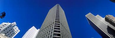 ALTA Survey in Los Angeles high-rise district